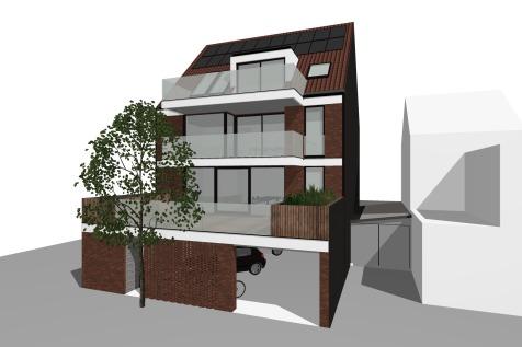 Rode Kruisstraat_Nieuwbouw appartementen achterzijde